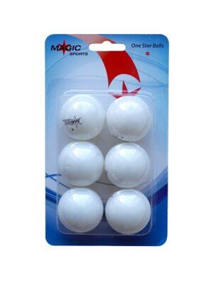 Set od 6 stolnoteniskih loptica 1*