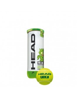 HEAD loptica za tenis TIP zelena 3/1