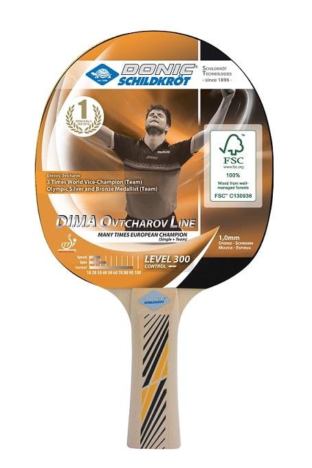 Reket za stolni tenis – super cijena: Donic Schildkröt Ovtcharov 300