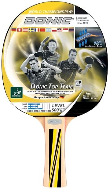 Reket Donic Top Team 500 za stolni tenis