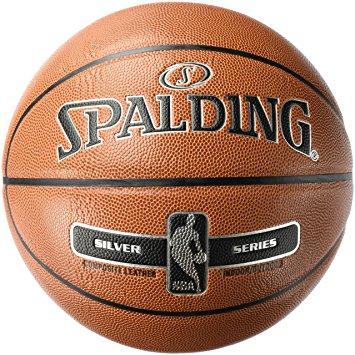Spalding Silver: lopta sa srebrnim logom NBA, vel. 7