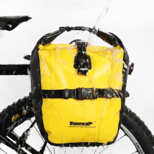 Prednje bisage za bicikl Rhinowalk, 20 litara, 100% vodootporna