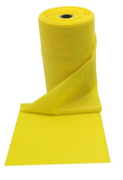 Gumena traka za fitness, žuta, slaba razina otpora