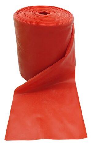 Gumena traka za fitness, crvena, jaka razina otpora