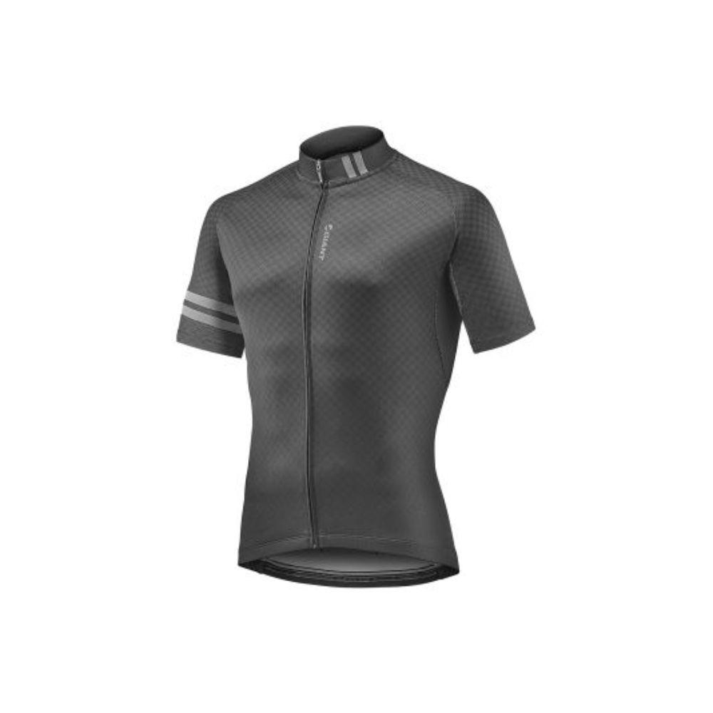 Majica GIANT Podium, kratki, crna/siva