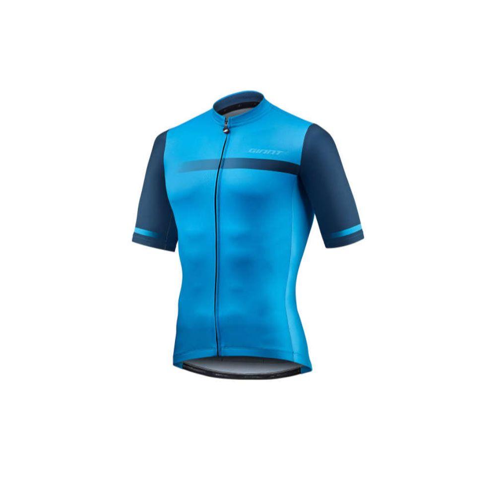 Majica GIANT Podium, kratki, plava