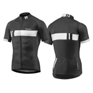 Majica GIANT Podium, kratki, crna/bijela