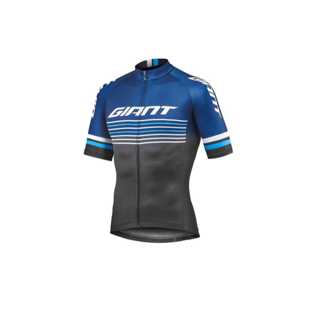 Majica GIANT Race Day, kratki, plava