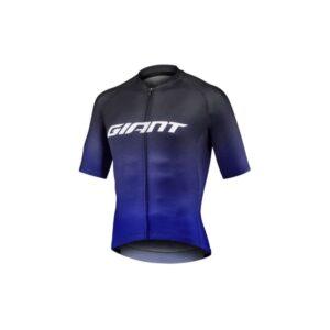 Majica GIANT Race Day, kratki, crna/plava