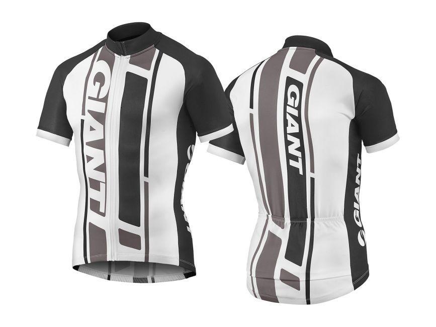 Majica GIANT GT-S, kratki rukavi, crna/siva