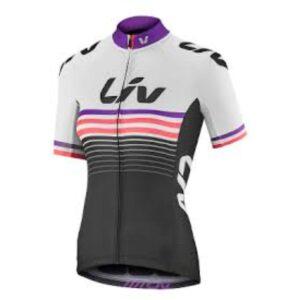 Majica Liv Race Day, bijela/crna