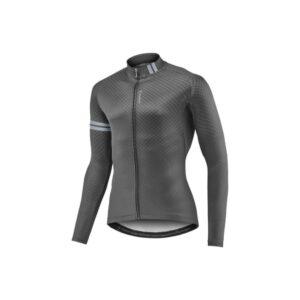 Majica GIANT Podium Thermo, dugi, crna/siva