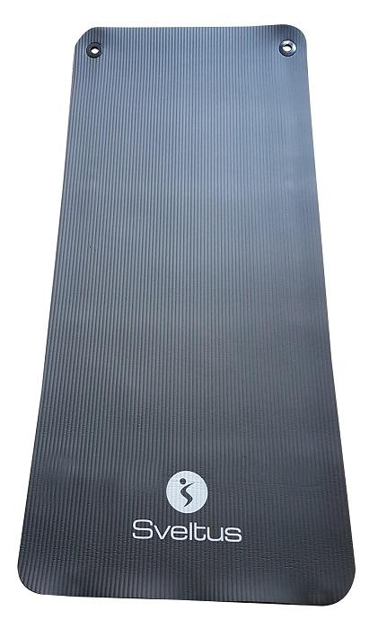 Podloga za vježbanje, crna, 140×60 cm