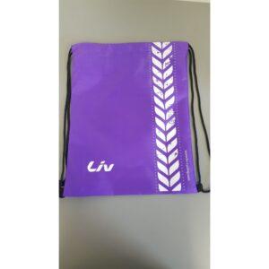 Fitnes torba Liv složiva ljubičasta 35x44cm