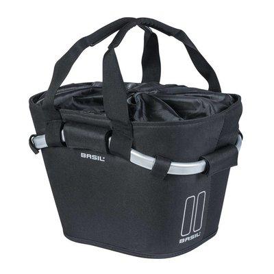 Košara prednja Basil Classic Carry All KF 15L, crna