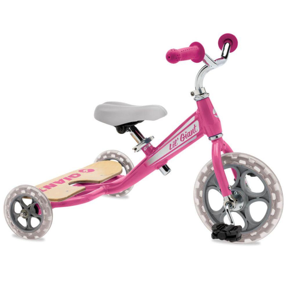 Tricikl Lil Giant 10, roza boja