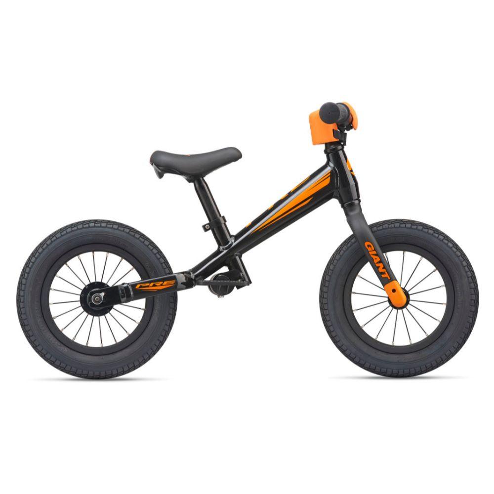 Dječji bicikl/guralica GIANT Pre Push crna/narančasta