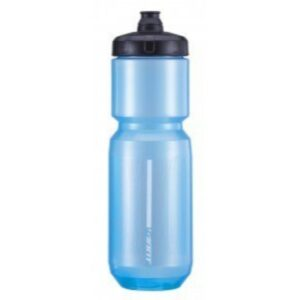 Bidon Giant DoubleSpring 750 ml prozirna/plava/siva