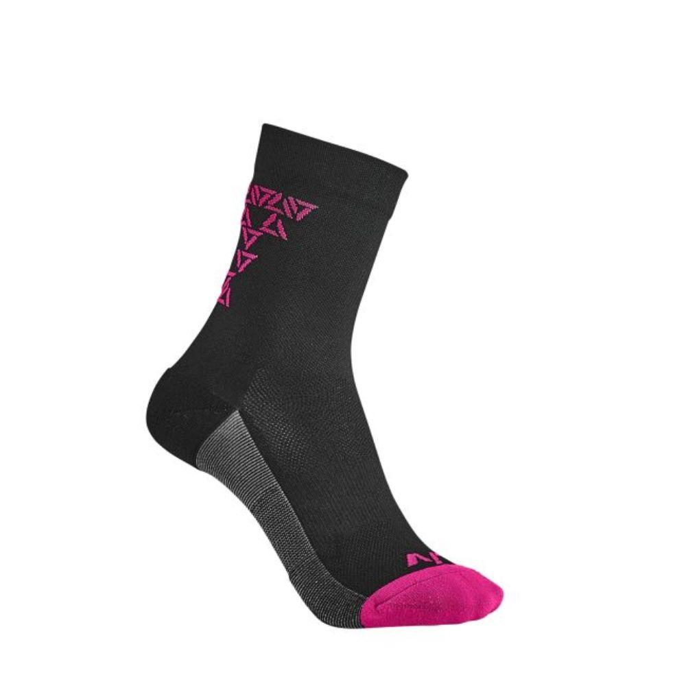 Čarape Liv Energize, crna / roza