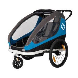 Prikolica za bicikl Hamax Traveller plava/siva
