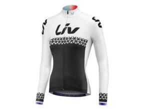 Majica Liv Beliv Luna, dugih rukava, crna/bijela/ljubičasta
