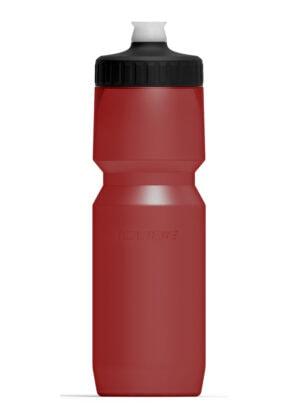 BIDON CUBE FEATHER 750ML RED 12969