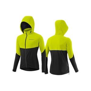 GIANT Express jakna za kišu, crna / žuta