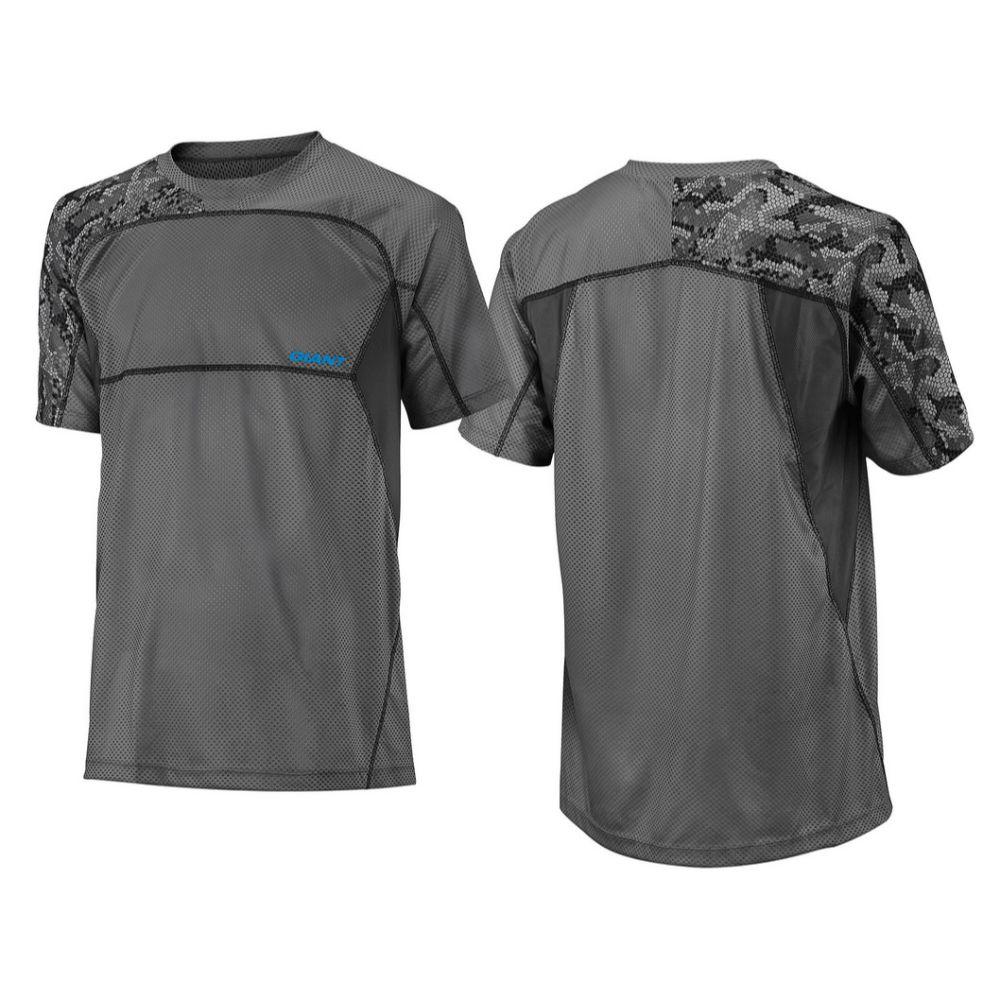 Majica GIANT Realm, kratki rukavi, siva/crna