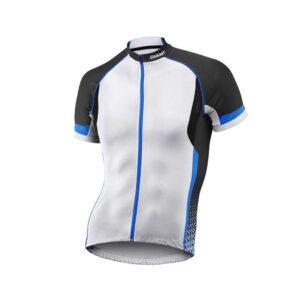 Majica GIANT Streak, kratki rukavi, bijela/crna/plava