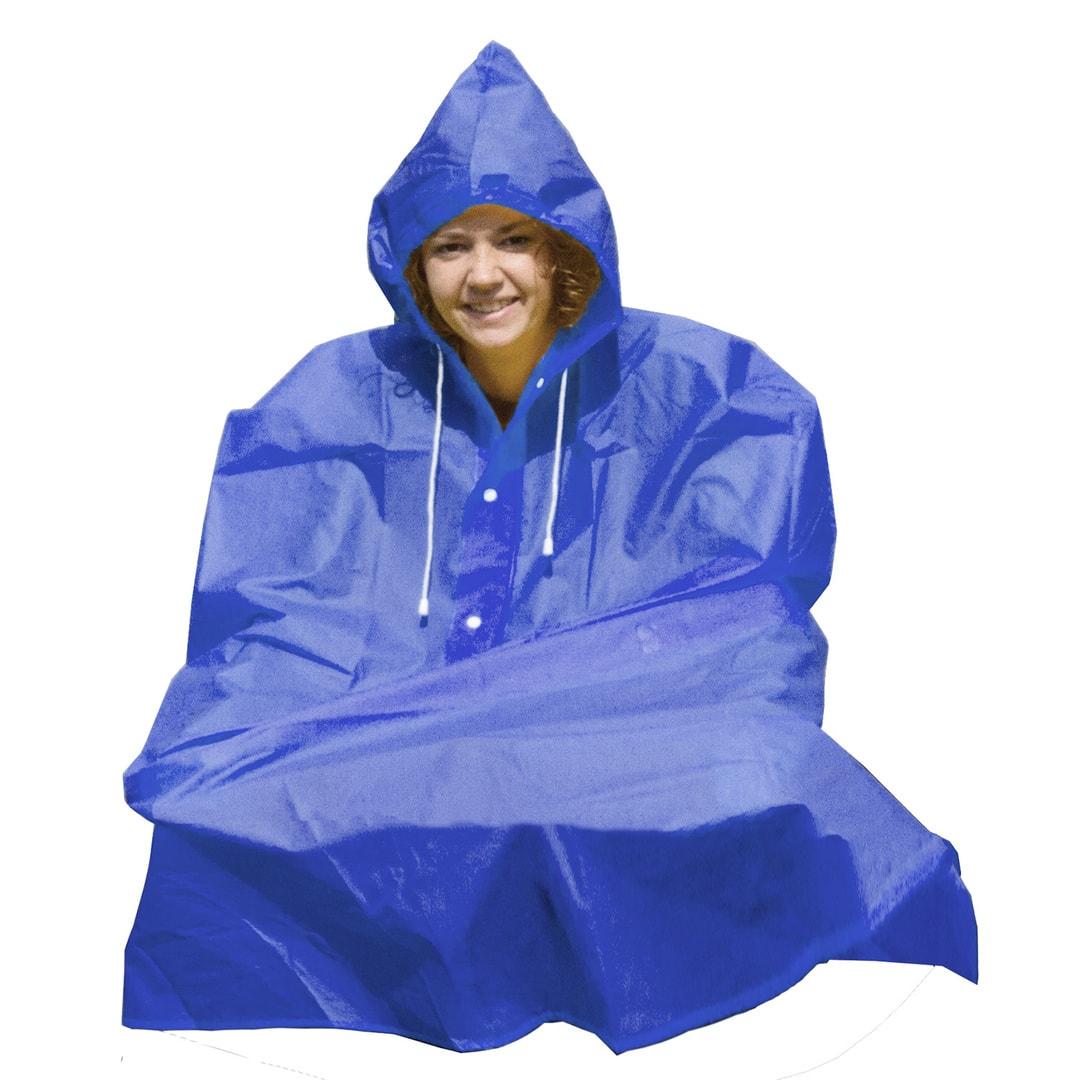 Kabanica Poncho Blue MS