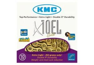 Lanac KMC X10 EL Gold 1/2X11/128 114ČL 10B