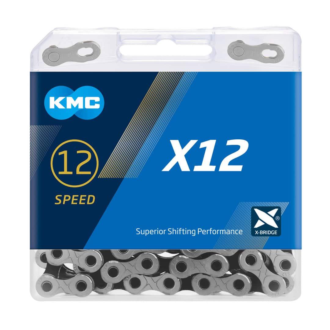 LANAC KMC X12 SILVER/BLACK 126L