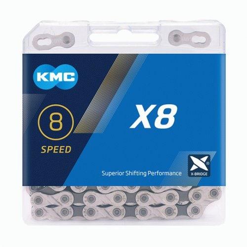 LANAC KMC X8 SILVER/GREY 114L