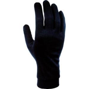 Podrukavice Cairn SILK Gloves Junior black