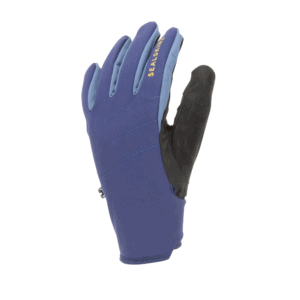 Rukavice SEALSKINZ WP All weather with fusion control Navy blue