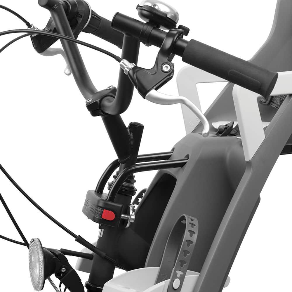 Prednja sjedalica Polisport GRUPPY MINI, montaža na okvir bicikla