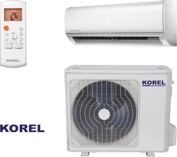 Klima uređaj Korel Nexo, Inverter, WI-FI, Ionizator, 2,6/2,9 KW R32