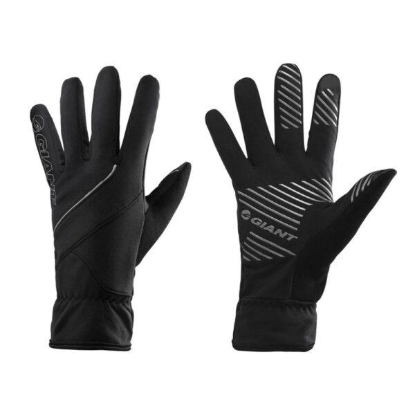 GIANT Chill Lite, duge rukavice, crna boja