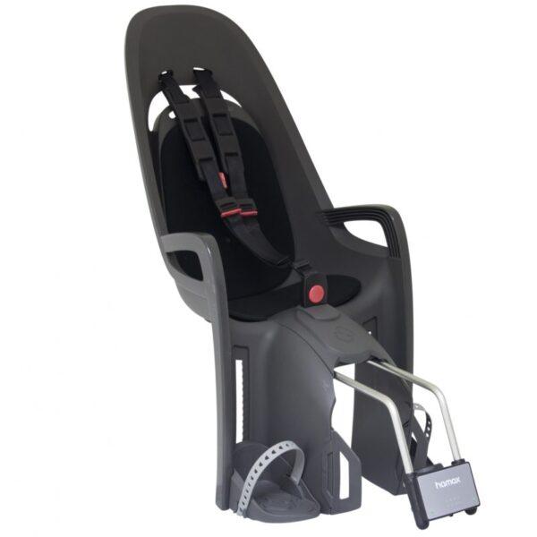 Stražnja dječja sjedalica Hamax Zenith siva/crna