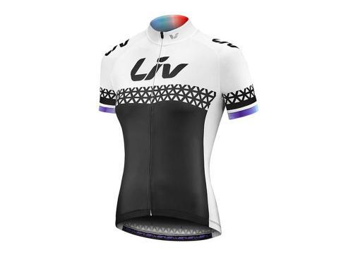 Majica Liv Beliv Luna, kratkih rukava, crna/bijela/ljubičasta