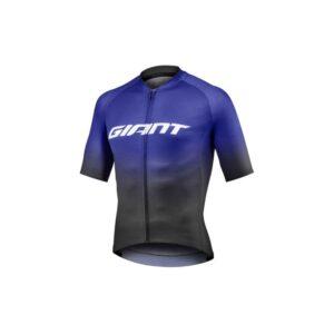 Majica Giant Race Day kratki plava/crna