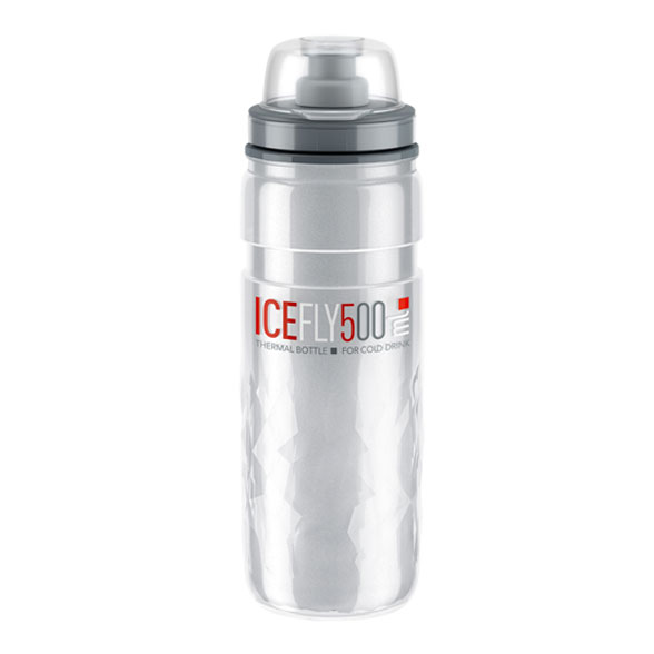BIDON ELITE FLY ICE THERMO 500ml CLEAR