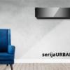 Klima uređaj Korel Urban Art, crni, Inverter, WI-FI, 3,6/3,7 KW R32