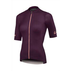 Majica Liv Vantage kratki tamnocrvena