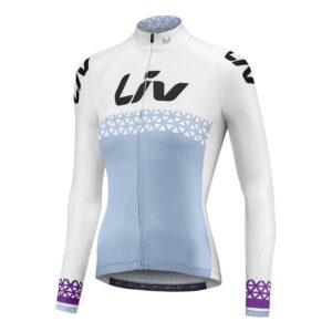 Majica Liv Beliv Luna, dugih rukava, plava/bijela/ljubičasta