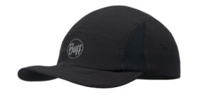 KAPA BUFF 5 PANEL CAP R-SOLID BLACK L/XL