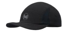 KAPA BUFF 5 PANEL CAP R-SOLID BLACK S/M