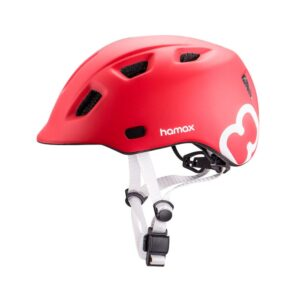 Kaciga dječja Hamax Thundercap crvena/bijela