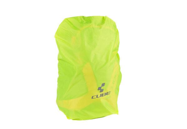 Pokrivalo za ruksak Cube PURE 11/14 Neon Yellow