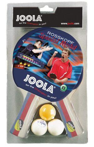 Set reketa Joola Rosskopf, 2 reketa + 3 loptice